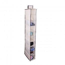 10 warstw wisząca torba do przechowywania szafa organizator szafa organizator ubrania torba do przechowywania drzwi buty szafka