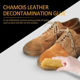 100% wysokiej jakości surowy blok gumowy zamsz skóra nubukowa Stain Boot Shoes Deerskin Suede gumowa do czyszczenia butów