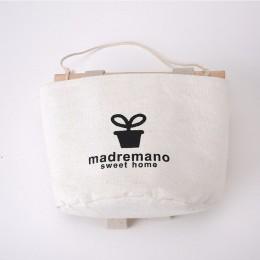 Cartoon wisząca torba do przechowywania wiszący worek do garderoby pokrowiec na ścianę zabawki kosmetyki organizuj kieszenie tor