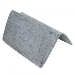 Nocna filcowa torba do przechowywania z kieszeniami kanapa z funkcją spania biurko wiszący Organizer do czasopism telefonicznych