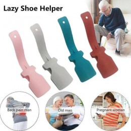 Łyżka do butów leniwy Unisex nosić łyżka do butów zawód wygodny pomocnik Shoehorn Shoe łatwe zakładanie i zdejmowanie solidna po