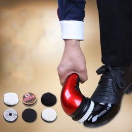 Przenośny ręczny automatyczne elektryczne szczotka do butów połysk polerka 2 sposoby zasilania ue wtyczką