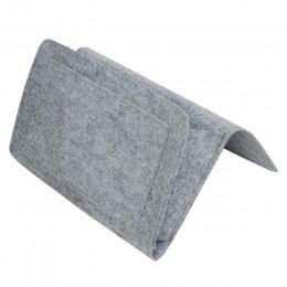 Nocne filcowe przechowywanie z kieszeniami kanapa z funkcją spania biurko wiszące organizuj na czasopisma telefoniczne tablety p