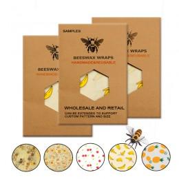 Przyjazne dla środowiska wielokrotnego użytku nakładki do żywności jedzenie zachowywanie świeżości przechowywanie organiczny wos