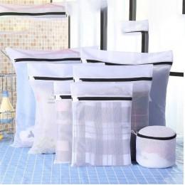 1 zestaw/7 sztuk prania użytku domowego bielizna biustonosz worek do prania pogrubienie z drobnymi oczkami worek na pranie prać