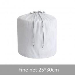 5 rozmiarów gruby/cienki worek na pranie netto sznurkiem przenośne worki do prania do prania bielizny duże ubrania dedykowane et