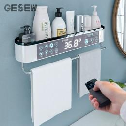 GESEW przechowywanie w łazience naścienne półeczki na drobiazgi ręcznik kąpielowy Organizer do kuchni WC Home Garden akcesoria ł