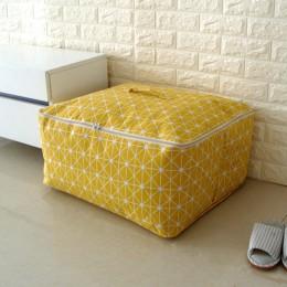 Nowy prosty Organizer Cloest 1 sztuk trwała torba do przechowywania kołdra Blnket skarpety rzeczy pojemnik przenośny składany sz