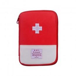 2 kolory przenośna apteczka do domu Outdoor Travel Camping torba medyczna do nagłych wypadków małe torby medyczne