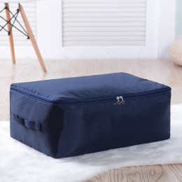 Nowy 1 sztuk tkanina do domu torba do przechowywania kołdry o dużej pojemności Oxford organizer odzieży pojemnik Case składany s