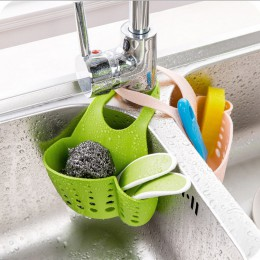 Strona główna ekologiczny zlewozmywak kuchenny pojemnik na gąbkę wiszący kosz regulowany rodzaj przycisku zatrzaskowego spustowy