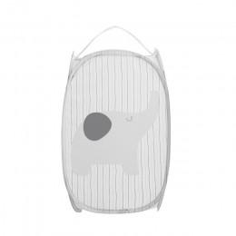 Cartoon składane kosze do przechowywania ubrań siatka do prania kosz na brudne ubrania przenośny Organizer do suszenia prania po