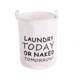 Modne tkaniny kosz na pranie worek brudny pokrowiec składany kosz na bieliznę bransoletka wodoodporny worek na pranie produkt ła