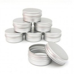 10 sztuk balsam do paznokci kosmetyczny krem do makijażu Pot Lip Jar blaszany futerał pojemnik niedrogi