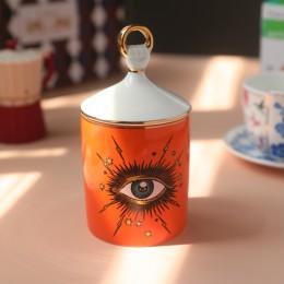 Pulpit gruzu przechowywania słoik z pokrywką Starry duży pędzelek do oczu schowek na długopisy uchwyt płatki kosmetyczne wacik s