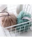 Ręcznik kąpielowy akcesoria łazienkowe piłki prysznicowe PE piłka do kąpieli Body złuszczający narzędzie 1 szt. Przenośna kąpiel