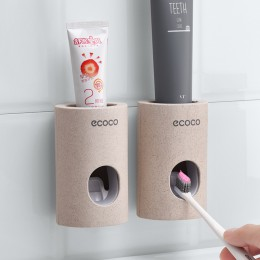 Automatyczny dozownik pasty do zębów odporny na kurz uchwyt na szczoteczki do zębów pasta do zębów wyciskacze stojak z uchwytem