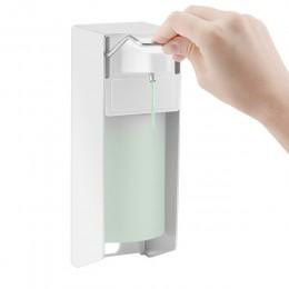 Instrukcja montażu na ścianie mydło w płynie/Spray/pianka 500ml dozownik do mydła dozownik do mydła dozownik do mydła w kuchni ł
