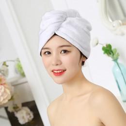 60*25CM mikrofibra po pod prysznic do włosów suszenie Wrap kobiet dziewczyny Lady'S ręcznik szybkie suche włosy kapelusz turban
