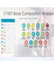 SDARISB waga do pomiaru tkanki tłuszczowej podłoga naukowa inteligentna elektroniczna LED waga cyfrowa łazienka bilans Bluetooth