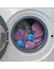 Niebieski wielokrotnego użytku mycie kulka do suszarki na odzież narzędzia do czyszczenia proszek do prania piłka akcesoria łazi