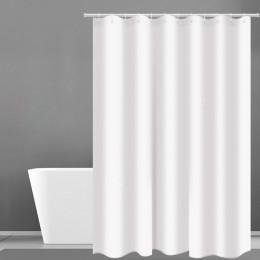Zasłona prysznicowa Hotel waga ciężka zasłona prysznicowa wodoodporna i pleśń darmowe kurtyny kąpielowe białe zasłony prysznicow