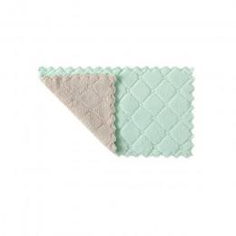 Luluhut 8 sztuk/partia ręczniki z mikrofibry do domu chłonny do kuchni grubsze tkaniny do czyszczenia mikro włókna wytrzeć stół