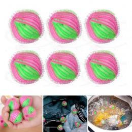 6 sztuk magia depilacja kula do prania ubrania higiena osobistej włochata piłka pralka samoczyszcząca się kula chwyta Fuzz włosó
