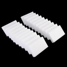 10/20 sztuk biała magiczna gąbka do wycierania środek do czyszczenia melaminy wielofunkcyjny kuchnia narzędzia do czyszczenia ła