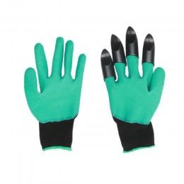4/8 pazur ABS plastikowe ogrodowe rękawice gumowe ogrodnictwo kopanie sadzenia trwałe wodoodporne rękawice robocze Outdoor gadże