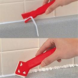 2 sztuk silikonowy uszczelniacz do szkła zestaw narzędzi do usuwania zestaw skrobak Caulking mold Removal przydatne narzędzie do