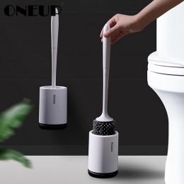 TPR silikonowa szczotka do WC stojąca ścienna szczotka do czyszczenia podstawy do WC WC zestaw akcesoriów łazienkowych artykuły