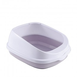 Kuweta dla zwierzaka Bedpan przeciw rozpryskom koty kuweta taca dla kota z szufelką Kitten Dog Clean Toilette Home plastikowe pu