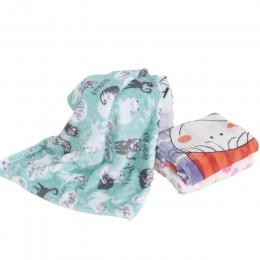 Kocyk dla zwierząt domowych mata do spania dla kota koral polar utrzymuj ciepły koc małe średnie psy koty śpiące zimowe łóżko dl