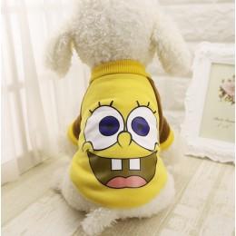 T najnowsze płaszcze dla psów kurtki kostiumy koty domowe odzież polarowa Puppy ubranka dla Chihuahua York Ropa Para Perros bluz
