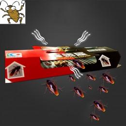 10 sztuk karaluch dom pułapka na karaluchy odstraszający zabójcza przynęta silny lepki łapacz pułapki owad odstraszacz szkodnikó