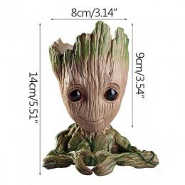 Baby doniczka Groot doniczka kwiatowa figurki drzewo człowiek śliczny Model długopis akcesoria doniczka ogrodowa doniczka do sad