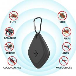 USB ultradźwiękowy anty urządzenie przeciw komarom odstraszacz odkryty odstraszacz owadów ultradźwiękowy elektroniczny Roach Con