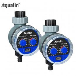 2 sztuk Aqualin inteligentny zawór kulowy podlewanie zegar automatyczny elektroniczny dom ogród do nawadniania używane w ogrodzi