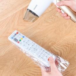 5 paczek 25 sztuk folia termokurczliwa wyczyść wideo TV klimatyzacja pilot obudowa ochronna Home wodoodporny ochronny Case nowoś