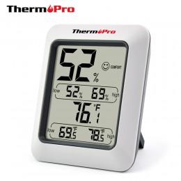 Thermopro TP50 wysokiej dokładności higrometr cyfrowy termometr kryty elektroniczny higrometr temperatury stacja pogodowa
