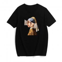 Mercury modny nadruk T-shirt parodia ubrania z krótkim rękawem nowy harajuku top koszulka casual shirt odzież damska Kawaii wega