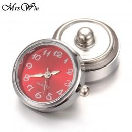DIY 18mm zegarek szklany zatrzaski wymienne akcesoria do biżuterii może przenosić wymienny przycisk biżuteryjny zatrzaskowy do b