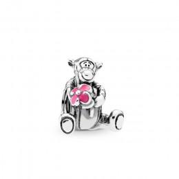 Nowy oryginalny 925 Sterling srebrny koralik tygrysek kłapouchy prosiaczek kubuś niedźwiedź srebrny wisiorek Fit Pandora bransol