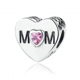 BISAER 925 srebro matka mama tata siostra serce koralik Fit Charms srebro 925 oryginalna bransoletka rodzina koraliki tworzenia