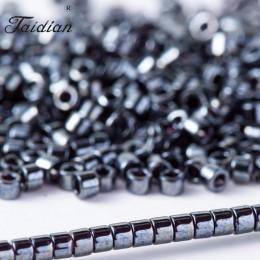 Taidian miedziany kryształ Miyuki Delica koraliki na szycie 5 gramów/partia 1.6x1.3mm DB37