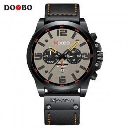 TEND męskie zegarki Top luksusowa marka wodoodporny zegarek sportowy na rękę 8314 kwarcowy wojskowy prawdziwej skóry Relogio Mas