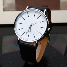 Relogio Masculino zegarek kwarcowy mężczyźni skórzane zegarki męskie zegar męski zegarek sportowy montre homme hodinky ceasuri s