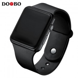 Gorąca sprzedaż Sport cyfrowy zegarek zegarki damskie męskie elektroniczny zegarek led męskie zegarki damskie pasek silikonowy z