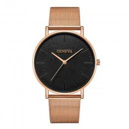 2019 damski zegarek Bayan Kol Saati moda złota róża damski zegarek srebrny kobieta reloj mujer saat relogio zegarek damski